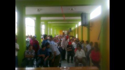 Chiclayo: obreros  paralizarán labores cuatro horas este 29 de diciembre
