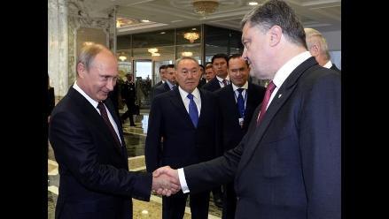 Petró Poroshenko y Vladímir Putin se reunirán el próximo 15 de enero