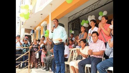 Lambayeque: Willy Serrato se despide de Olmos con audiencia pública