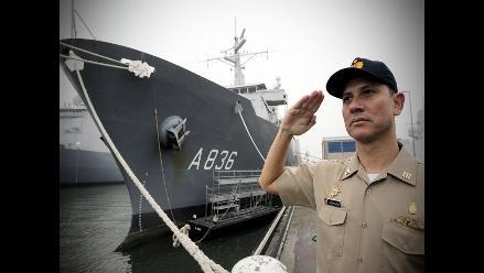 El buque Tacna, la nave más grande de la Armada peruana