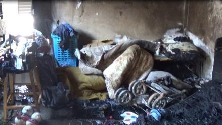Arequipa: niño de 6 años fallece tras incendio registrado en inmueble