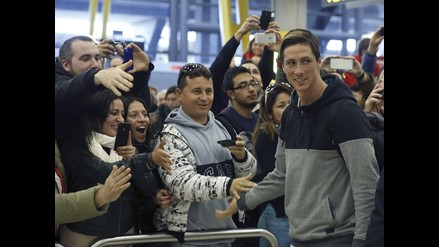 Fernando Torres ya está en Madrid: Estoy emocionado por volver a casa