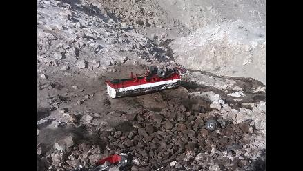 Mollendo: volcadura de cisterna provoca la muerte de dos menores de edad