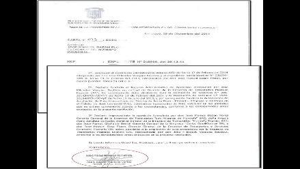 Alcaldesa de Chiclayo autoriza nueva ruta con informe legal de asesor externo