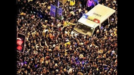 Año Nuevo: Al menos 35 mueren aplastados en celebraciones en China