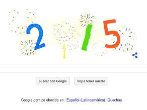 Google celebra el 2015 con nuevo doodle
