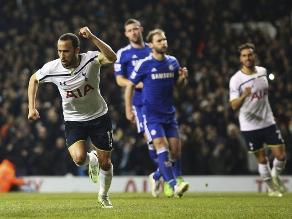 Chelsea cae goleado 5-3 ante Tottenham y comparte la punta con el City