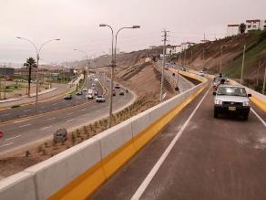 Costa Verde: tramo de San Isidro a Miraflores seguirá cerrado