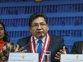 CNM: Junta de Fiscales Supremos debe definir suspensión de Ramos Heredia