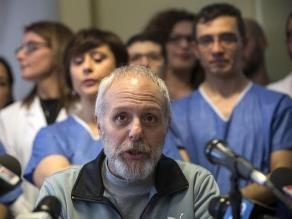 Ébola: Médico italiano superó la enfermedad y recibió el alta médica