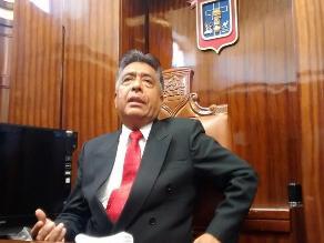 Chiclayo: alcalde realiza oración antes de tomar posesión de gestión edil