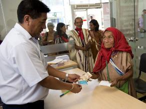 Pensión 65 atenderá a 500,000 adultos mayores en 2015