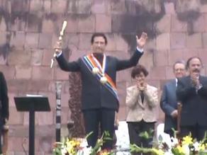 Cusco: alcalde electo juramentó y anunció sus primeras medidas