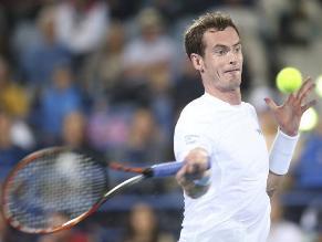 Andy Murray se corona en Abu Dabi tras retiro de Djokovic por fiebre