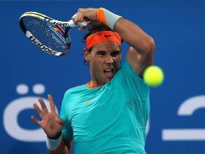 Rafael Nadal recuperó su mejor nivel y venció a Wawrinka en Abu Dabi