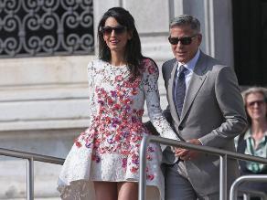 George Clooney: Esposa fue amenazada por Egipto