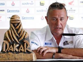 Dakar 2015: Etienne Lavigne espera que el rally pueda volver al Perú