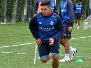 Joel Sánchez emocionado por volver a jugar al fútbol luego de dos años
