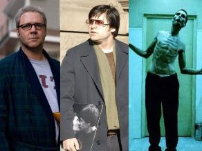 Los cambios de peso más radicales del mundo del cine