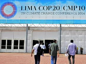 COP20 saludó inclusión del cambio climático en Plan Nacional de DDHH