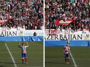 Atlético Madrid: Fernando Torres aclamado por más de 40.000 hinchas en presentación