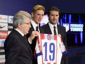 Fernando Torres: Siempre me faltó algo, ganar títulos con el Atlético