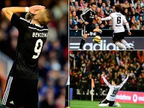 Valencia vs. Real Madrid: Las imágenes de la caída del cuadro blanco