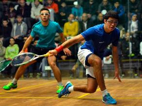 Diego Elías avanzó a las semifinales del British Junior Open de Squash