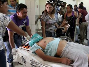 Diez heridos deja accidente de tránsito en carretera de Puno