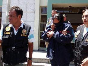 Arequipa: detienen a comerciante acusado de tocamientos indebidos a una niña