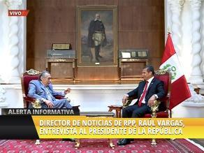 Ollanta Humala arremete contra apristas y fujimoristas