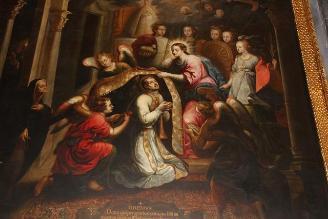 Restauran lienzo ´Nuestra Señora de Aranzazu´ en Cusco
