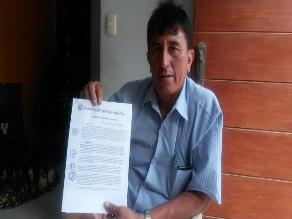 Epifanio Cubas despidió a 31 obreros en su primer día de gestión