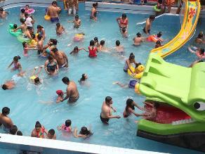 Chimbote: verifican que 16 piscinas están aptas para los bañistas