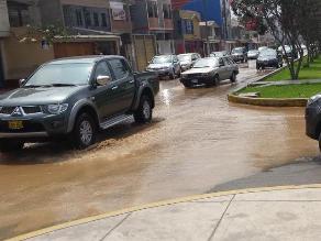 #Rotafono: Rotura de tubería en La Molina