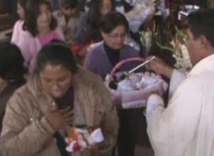 Niños Manuelitos fueron bendecidos en iglesias del Cusco