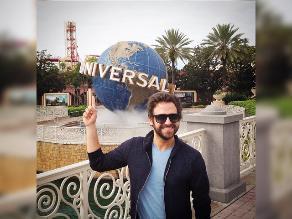 Rodrigo González y su recorrido por Disney World