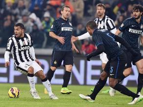 Juventus mantiene el liderato tras empate 1-1 ante Inter