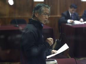 Caso diarios chicha: mañana dictarán sentencia a Alberto Fujimori