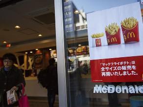 Japón: McDonald´s se disculpa por diente y plástico encontrados en comida