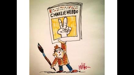 Charlie Hebdo: Caricaturista Liniers se solidariza con víctimas