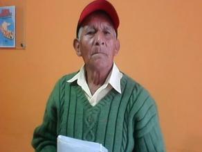 Chiclayo: septuagenario desea conocer a su hijo que vive en la selva