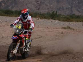 Dakar 2015: Joan Barreda se lleva la cuarta etapa en motos y supera a Coma