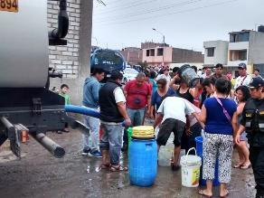 Trujillo: desde mañana distribuirán agua en 5 puntos de El Porvenir