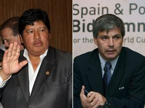 FPF: Edwin Oviedo se reunió con el chileno Harold Mayne-Nicholls