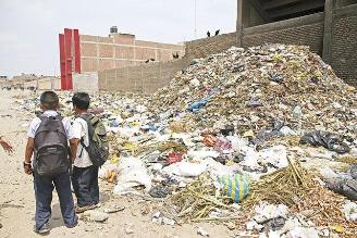 Pobladores de José Leonardo Ortiz también denunciaron acumulación de basura
