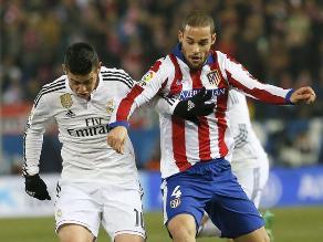 James Rodríguez cree que derrota de Real Madrid fue injusta
