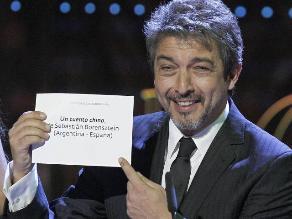 Ricardo Darín sorprendido por nominación a los Premios Goya