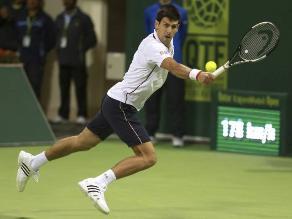 Novak Djokovic cayó ante Ivo Karlovic y no alcanzó las semifinales de Doha