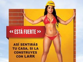 Vania Bludau responde a críticas sobre publicidad de Lark